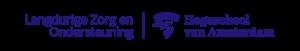 Logo HvA Langdurige Zorg en Ondersteuning